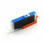 Canon CLI-281XXL Cyan Ink Cartridge, New Compatible Cartridge With Level Chip.