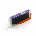 Canon CLI-281XXL photo blue Ink Cartridge, New Compatible Cartridge With Level Chip.