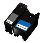 Dell 21 22 23 24 Black Color Combo Pack,Remanufactured  Ink Cartridge for Dell Photo all-in-one P513w V313 V313w
