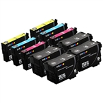 Epson T252xl-10 Ink Cartridges,10 Set ,Remanufactured