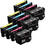 Epson T252xl-4 Ink Cartridges,12 Set ,Remanufactured