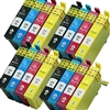 Epson T220xl-4 Ink Cartridges,16 Set ,Remanufactured