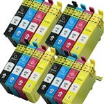 16x Epson 220 Ink Cartridges,220xl High Yield ,Remanufactured ink