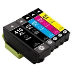 Epson 410XL Ink Cartridges,5 Set ,Remanufactured