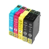 Epson T220xl-4 Ink Cartridges,5 Set ,Remanufactured