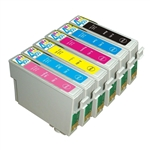 6Pk EPSON 98 Ink Cartridges t0981,t0982,t0983,t0984,T0985,t0986