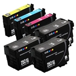 Epson T252xl-6 Ink Cartridges,6 Set ,Remanufactured