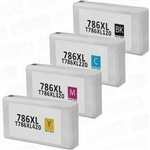 Epson 786XL Ink Cartridges,4 Set ,Remanufactured