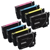 Epson T200- Epson T200XL120 (T200XL) BCYM Ink Set for Expression XP-200 XP-300 XP-310 XP-400 XP-410 Cartridges,8 Set ,Remanufactured