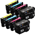 Epson T252xl-8 Ink Cartridges,8 Set ,Remanufactured