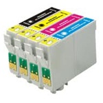 Epson T0691-4 Ink Cartridges,4 Set ,Remanufactured