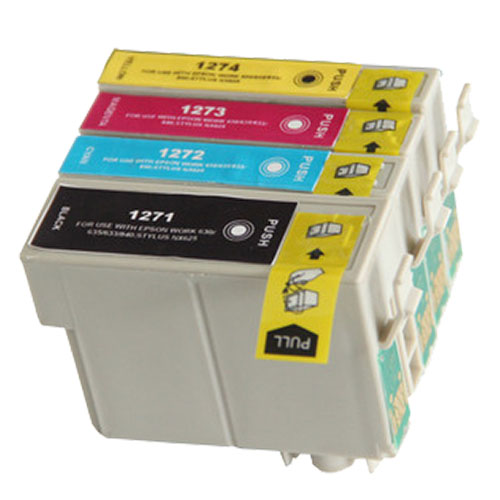 Epson 127 ink cartridges (T127120, T127220, T127320, T127420)