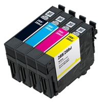 Epson T288- Epson T288XL120 (T288XL) BCYM Ink Set for Epson Expression XP-330,430,434 Cartridges,4 Set ,Remanufactured