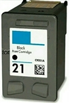 HP#21 (C9351AN) BLACK Remanufactured  Ink Cartridge