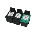 HP#98 (C9364WN)+HP#95 (C9366WN) printer ink cartridges