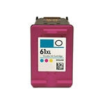 HP 61 XL Color (CH564WN) Remanufactured Ink Cartridges