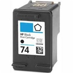 HP#74 (CB335WN) BLACK Remanufactured  Ink Cartridge