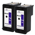 HP#74XL (CB335WN) BLACK Remanufactured  Ink Cartridge