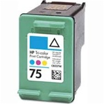 HP 75 (CB337WN) color Remanufactured Ink Cartridge