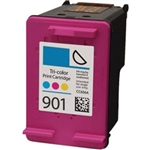 HP#901 Color (CC656AN) Remanufactured Ink Cartridge