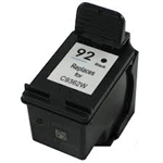 HP#92 (C9362WN) BLACK remanufactured Ink Cartridge
