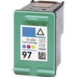 HP 97 INK (C9363WN) (HP 97) Remanufactured COLOR  Inkjet Cartridges