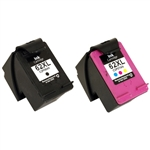 Combo Pack HP#62XL Black (C2P05AN) + HP#62XL Color (C2P07AN) Remanufactured Ink Cartridges