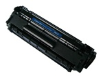 HP Q2612A Laser Toner Cartridge, Black, Remanufactured