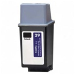 Hewlett Packard HP 29 Ink Cartridge, Black, Remanufactured