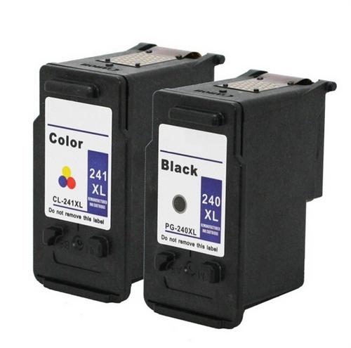 2 Pk PG-240XL CL-241XL Ink For Canon 240XL 241XL Pixma MX372 MX392 MX432 MX439