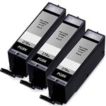 3 Pack Remanufactured  Canon PGI-270XL Ink Cartridge: 3 Pigment Black PGI270X