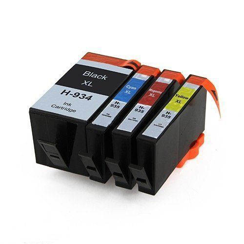 HP Ink 934 xl And Hp 935 xl ink cartridges, Hp 934, hp 935XL ink, High Yield Set Of 4 Colors.