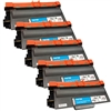 5 Pack Brother TN-750 Toner cartridge,High Yield Remanufactured  Toner For DCP,HL & MFC Printers
