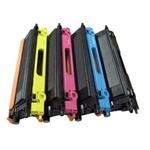 BROTHER TN115/TN-115 TONER SET 4 COLORS