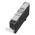 Canon CLI-221 Gray Remanufactured  Inkjet Cartridge W/ Chip