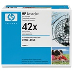 Hewlett Packard HP 42X Laser Toner Cartridge, Black, HP.