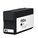 HP 950XL Black Ink Cartridge, REMANUFACTURED INK FOR OFFICEJET PRO 8100,OFFICEJET PRO 8600