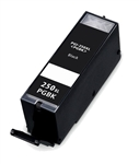 Remanufactured  Canon PGI-250XL Ink Cartridge: 1 Pigment Black PGI250X