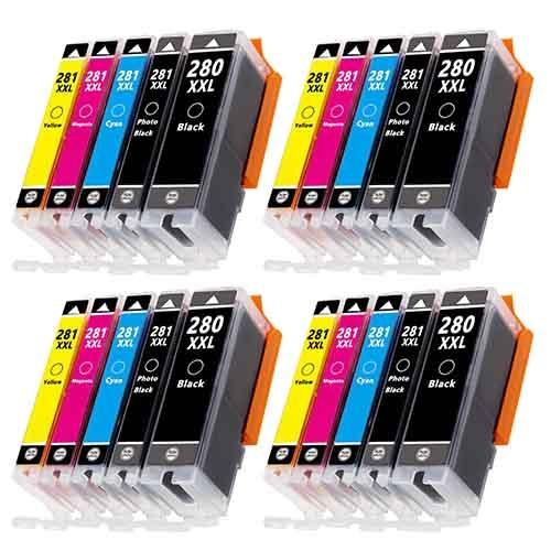 20-Pack Super High Yield Color Ink Cartridges Set