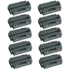 10 Pack HP 05X (CE505X) High Yield Black LaserJet Toner