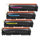 HP 201X TONER CARTRIDGE SET OF 4