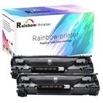 2 Pack HP 78A (CE278A) Black LaserJet Toner Cartridge.