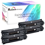 4 Pack HP 78A Toner (CE278A) Black LaserJet Toner Cartridge.