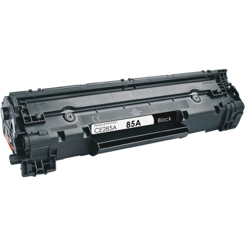 Hp ce285a toner cartridge hp 85a remanufactured blacktoner alternative views sciox Choice Image