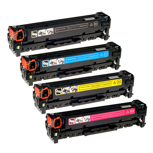 HP 305A Toner Cartridge (CE410,CE411,CE412,CE413)