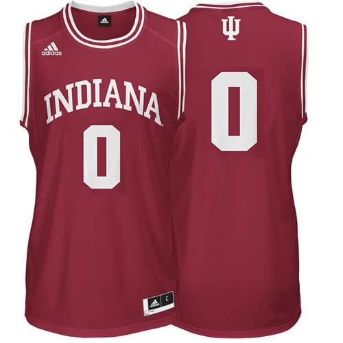 629dd729be4 ADIDAS Crimson Men s Basketball Replica  0 Indiana Jersey