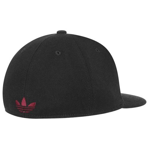 fed1cb03a5123c ADIDAS IU Hoosier Flat Visor Flex Hat Black