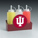 Indiana Hoosiers Condiment Caddy