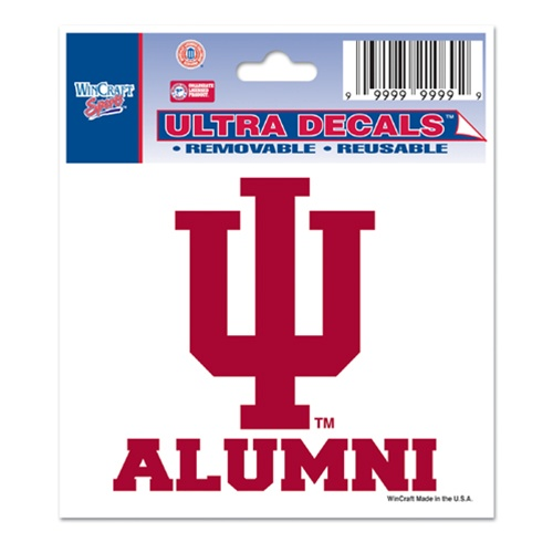 Indiana Quot Iu Alumni Quot Ultra Decal From Wincraft
