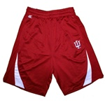 "Crimson Indiana IU ""Swift"" Athletic Shorts from Colosseum"